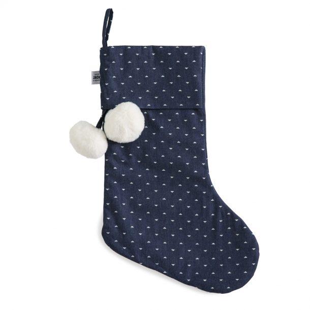 Binky Chambray Denim Christmas Stocking