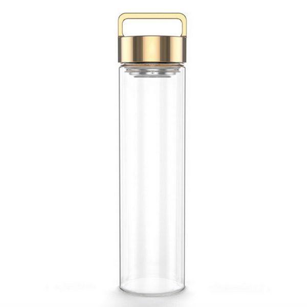 DROP BOTTLE // Rose Gold Drop Bottle 500ML