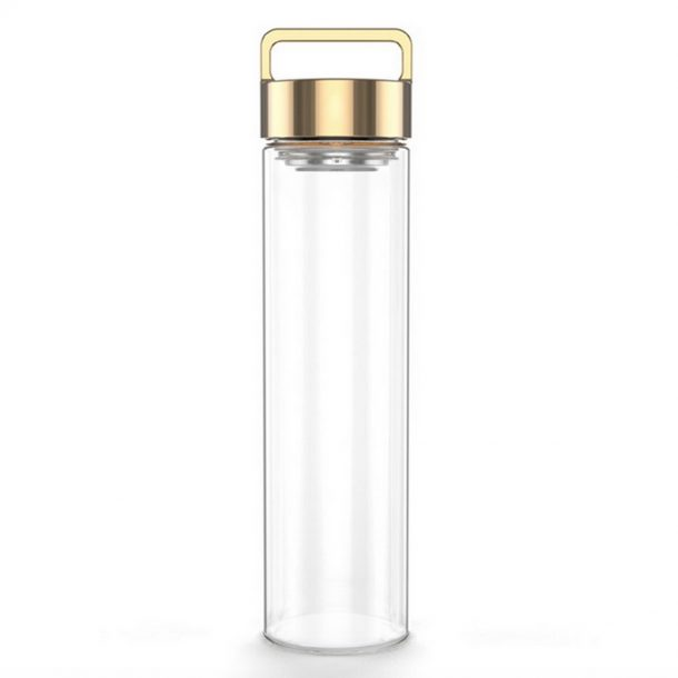 DROP BOTTLE // Rose Gold Drop Bottle 500ML
