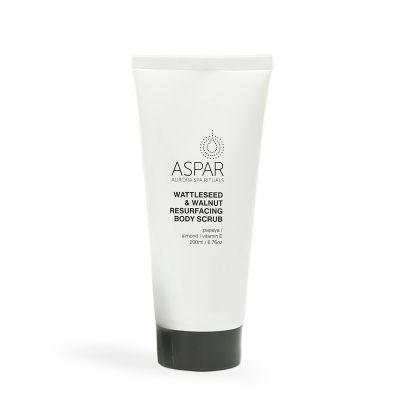 ASPAR //  Wattleseed & Walnut Resurfacing Body Scrub
