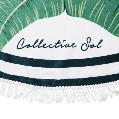 COLLECTIVE SOL Bahamas Round Towel