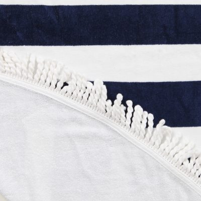 COLLECTIVE SOL Newport Round Beach Towel