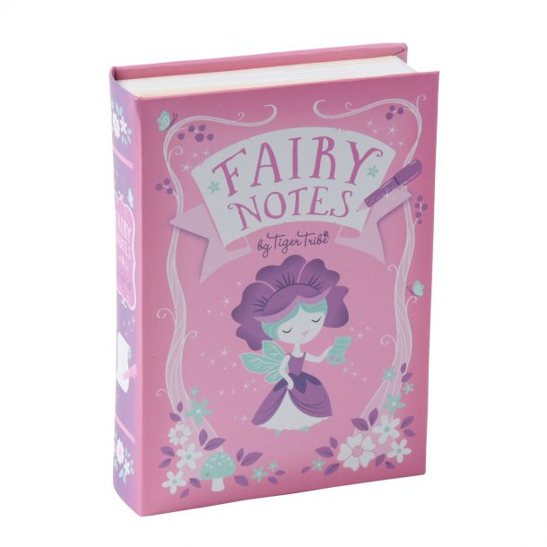 tigar tribe pink fairy notes set