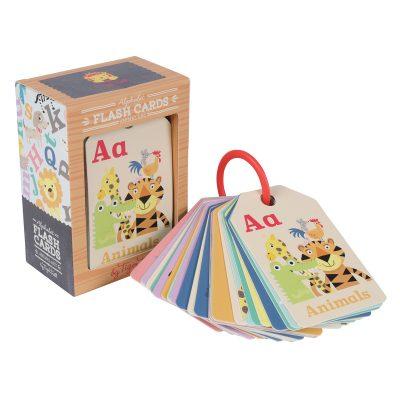 TIGER TRIBE // Animal ABC Flash Cards