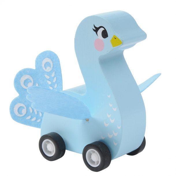 blue peacock Pull Back Birds