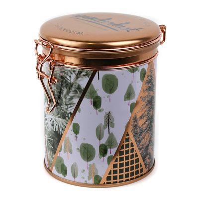 Stockholm Canister Candle with white background