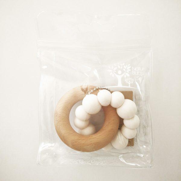 BLOK Teether in packaging