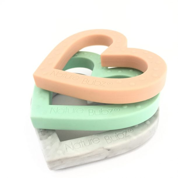 ADORE Teethers (4 Colours) mint marble peach
