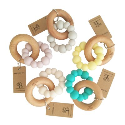 BLOK Teether all five colours with tags