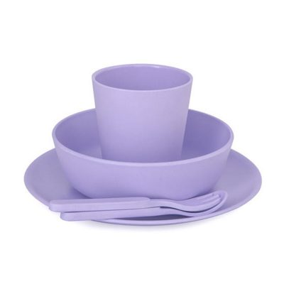 Lilac bobo&boo 5 Piece Set