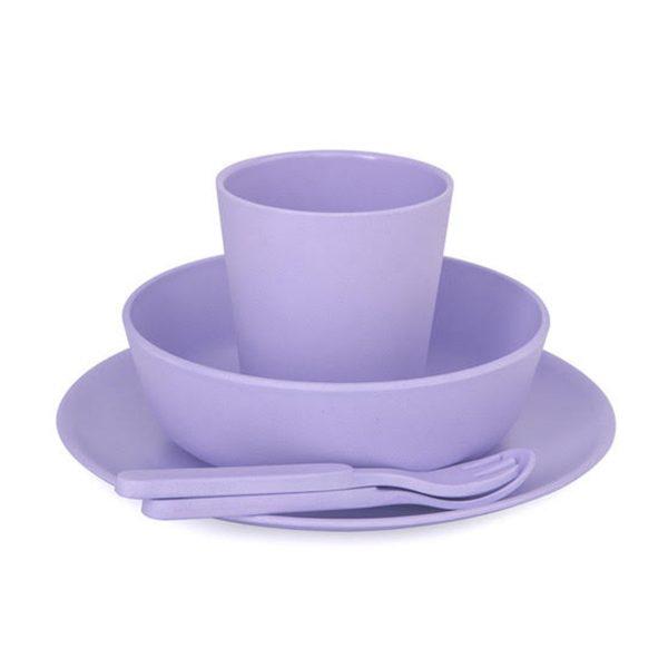 Lilac bobo&boo 5 Piece Set