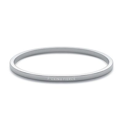 """F*cking Fierce"" Bangle"
