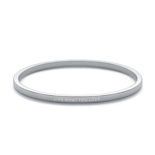 """Live What You Love"" Be. Bangle"