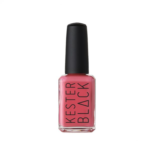 Queenie Kester Black Nail Polish in Bottle