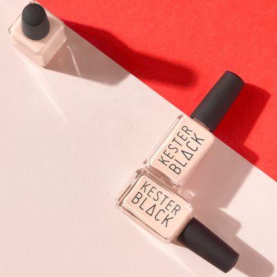 KESTER BLACK // Nude Nail Polish