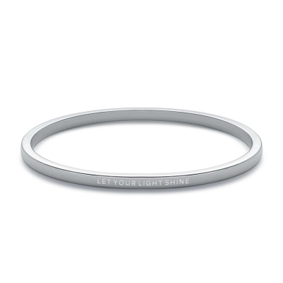 """Let Your Light Shine"" Bangle"