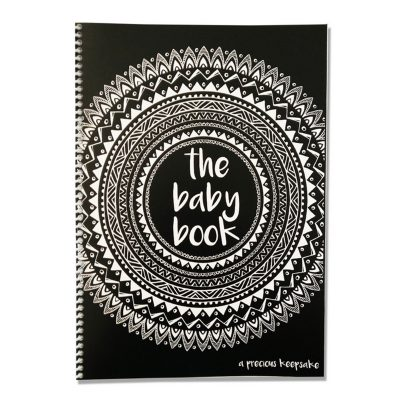 Forever3 Monochrome Baby Book