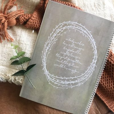 Boho Natural Pregnancy Journal