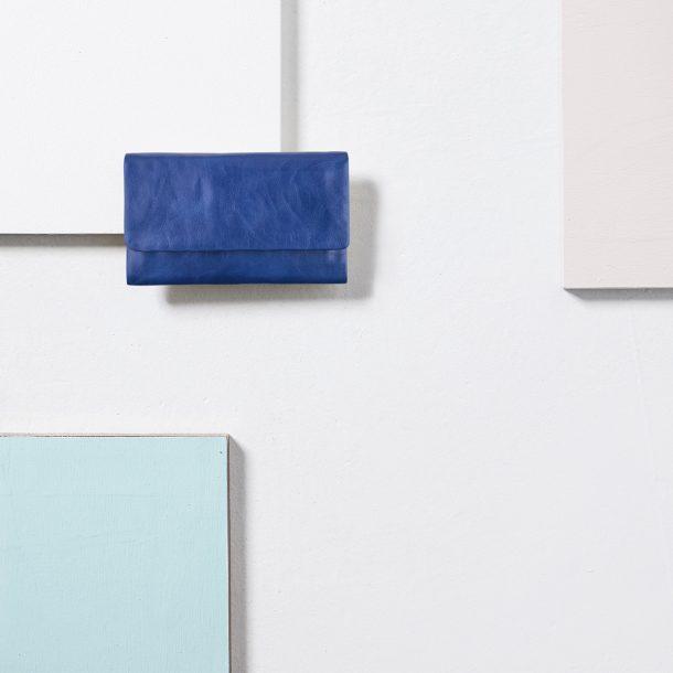 STATUS ANXIETY Royal Blue Audrey Wallet