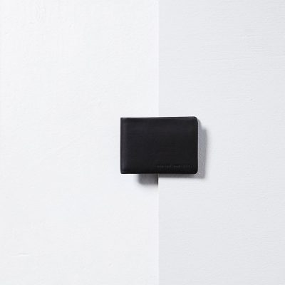STATUS ANXIETY Black Jonah Wallet
