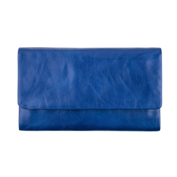 STATUS ANXIETY Royal Blue Audrey Wallet