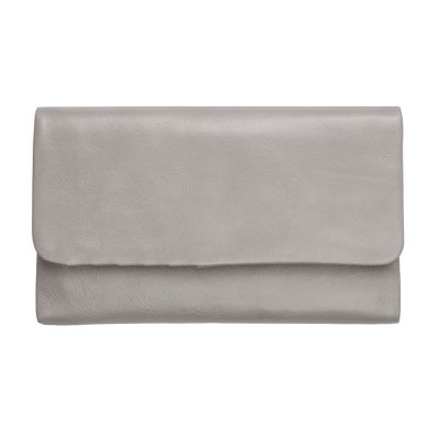 STATUS ANXIETY Light Grey Audrey Wallet