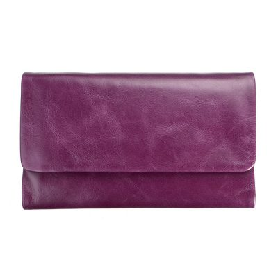 STATUS ANXIETY // Purple Audrey Wallet