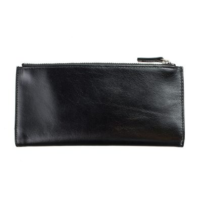 Status Anxiety Black Dakota Wallet front
