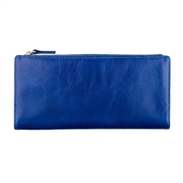 Status Anxiety Royal Blue Dakota Wallet front view