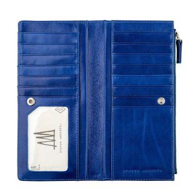 STATUS ANXIETY // Status Anxiety Royal Blue Dakota Wallet