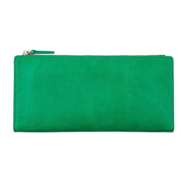 Status Anxiety Emerald Dakota Wallet front view