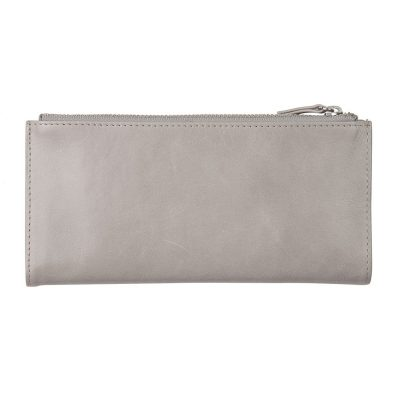 STATUS ANXIETY // Status Anxiety Light Grey Dakota Wallet