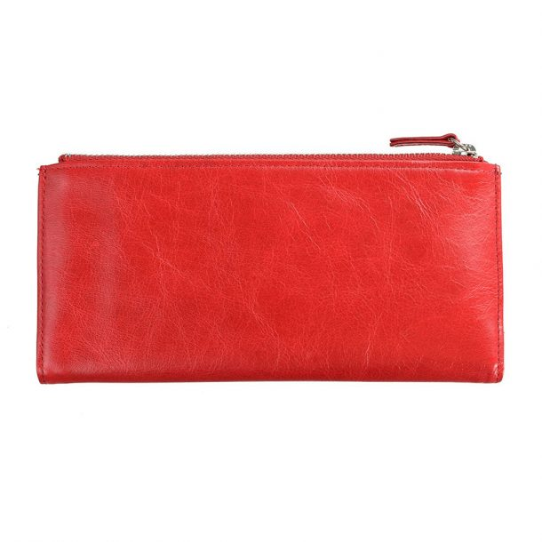 STATUS ANXIETY Status Anxiety Red Dakota Wallet