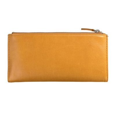 Status Anxiety Tan Dakota Wallet front
