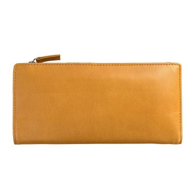 Status Anxiety Tan Dakota Wallet back