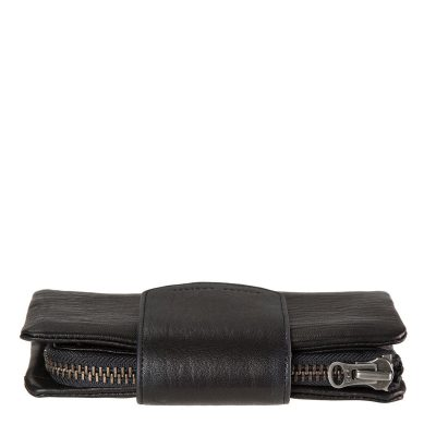 STATUS ANXIETY Black Subversive Clutch