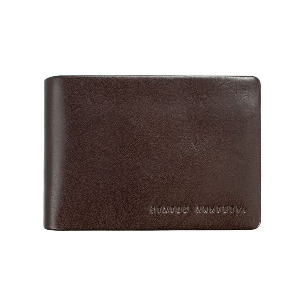 STATUS ANXIETY Chocolate Jonah Wallet