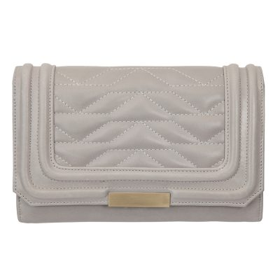 STATUS ANXIETY // Light Grey Subversive Clutch