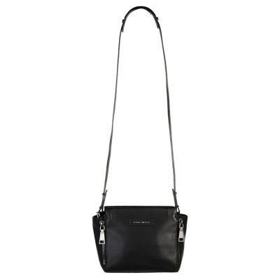 STATUS ANXIETY // Black Leather Ascendants Bag