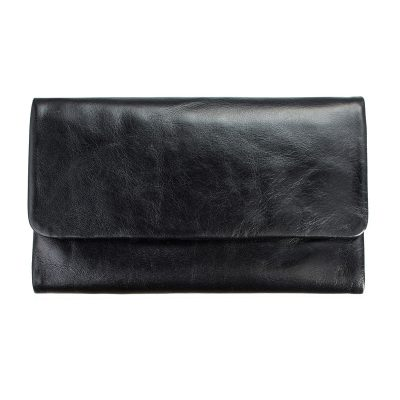 STATUS ANXIETY // Black Audrey Wallet