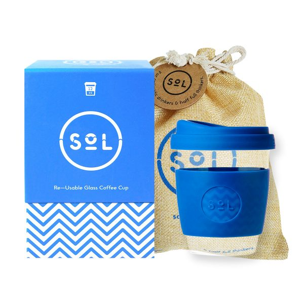 Bondi Blue SoL Cup + Protective Pouch