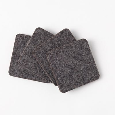 Grey Loki Felt Coasters