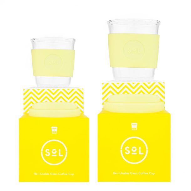 Sorbet Yellow SoL Cup (small and large scale)