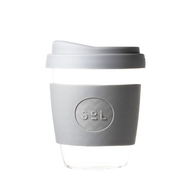 Reusable SoL Grey Coffee Cup