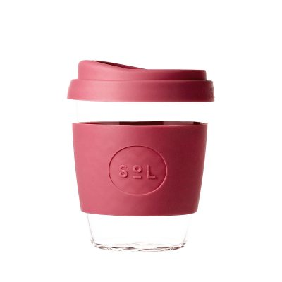 Radiant Rose SoL reusable coffee Cup