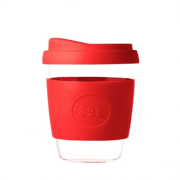 Rocket Red SoL Reusable Coffee Cup