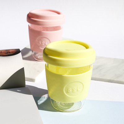 SOL PRODUCTS // Sorbet Yellow SoL Cup + Protective Pouch