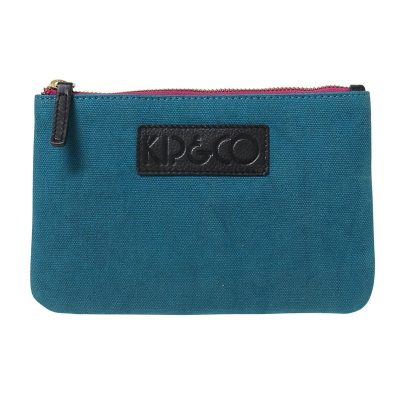 Kip&Co Teal Cosmetic Purse