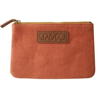 Kip&Co Orange & Pink Cosmetic Purse
