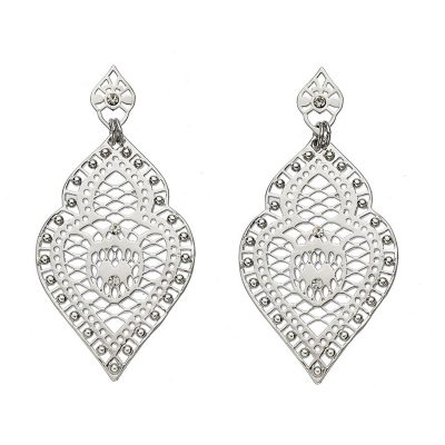 Silver Freida Earrings